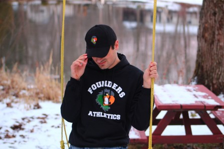 Founders Athletics Hoodie and Cap